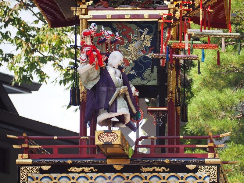 櫻山八幡宮 からくり奉納 布袋様、唐子(3)