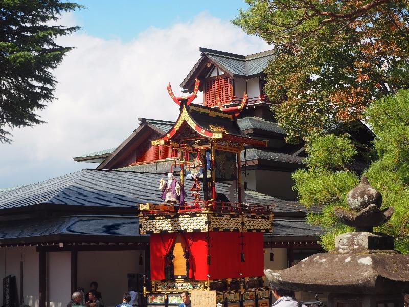 櫻山八幡宮 からくり奉納 布袋台