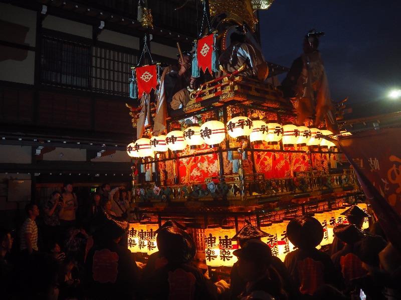 宵祭 神楽台
