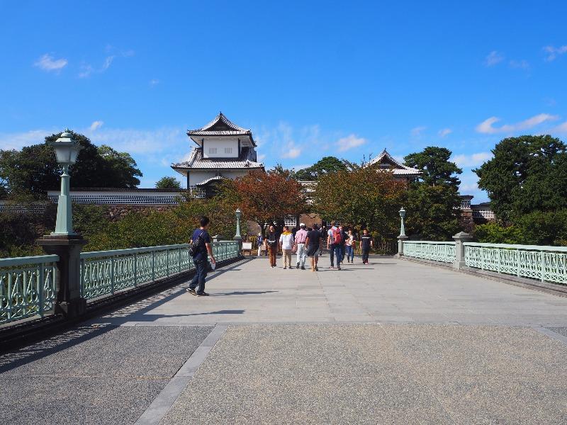 金沢城公園 石川橋~石川門(三御門)