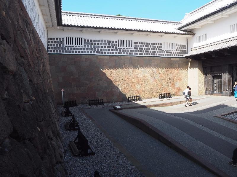金沢城公園 石川門石垣