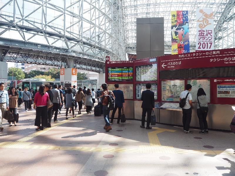 金沢駅 もてなしドーム