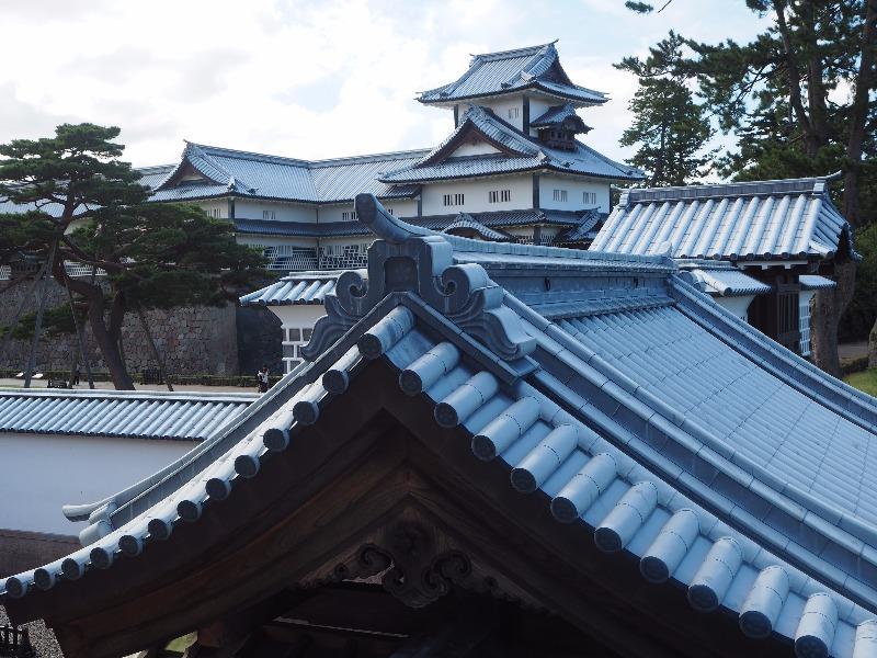 金沢城公園 河北門(三御門)から二の丸