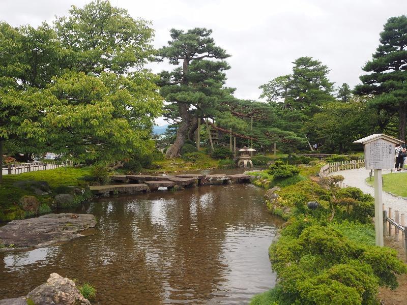 兼六園 雁行橋(がんこうばし)