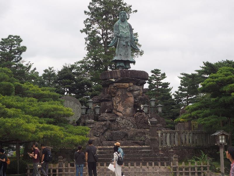 兼六園 明治紀念之標 日本武尊(やまとたけるのみこと)の像