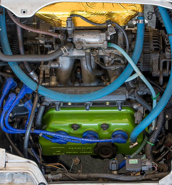 Honda ホンダ E07A改 SPEC2 静流