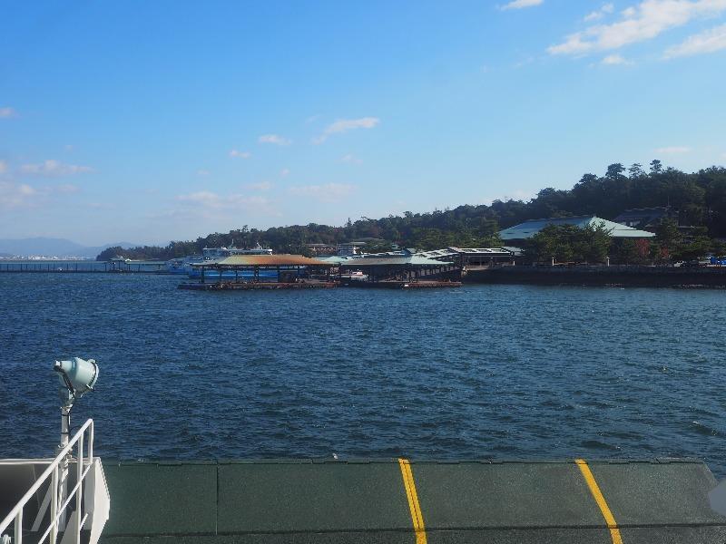 JR宮島フェリー 桟橋
