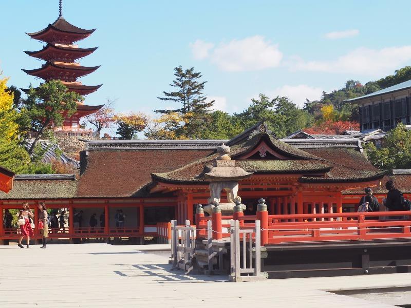 宮島 厳島神社 高舞台
