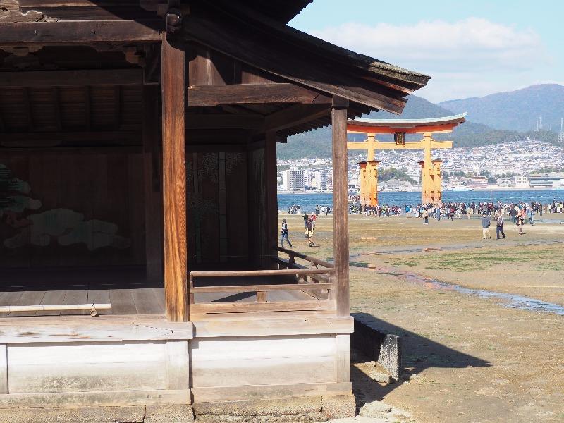 宮島 厳島神社 能舞台