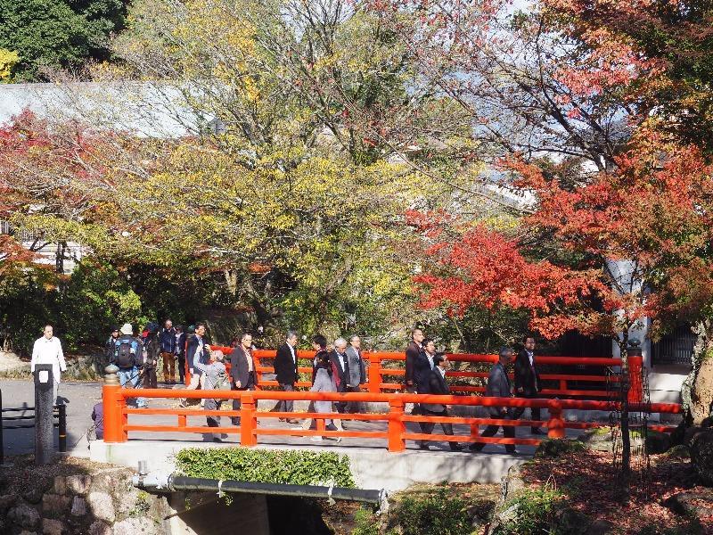 宮島 大聖院(1)白糸川、たきばし