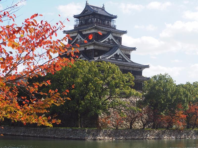 広島城 堀(1)