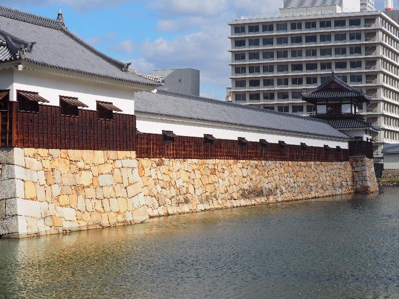 広島城 平櫓、多聞櫓、太鼓櫓