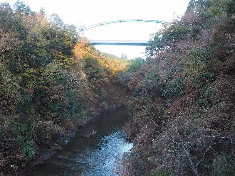 養老渓谷 渓谷橋
