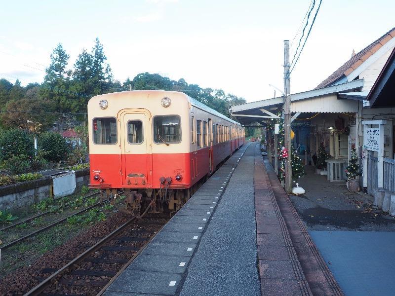 小湊鐵道 養老渓谷駅 キハ200形気動車