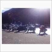 12月2日 琵琶湖 メタセコイヤ並木 ツーリング