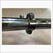 """EMGO Control lever 7/8""""fitment chrome"""