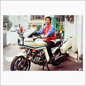 バイク屋時代のtoshiyama