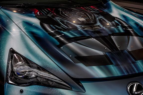 ヤマハ・コミュニケーションプラザ LEXUS LFA ANGEL IN CAR