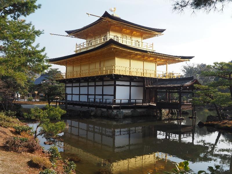 金閣 鹿苑寺 舎利殿(金閣)(3)漱清