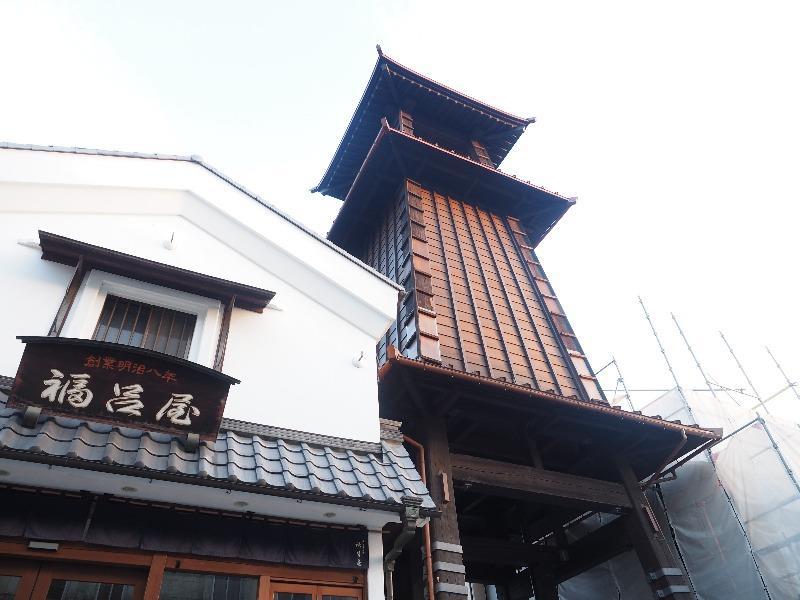 川越 一番街 時の鐘