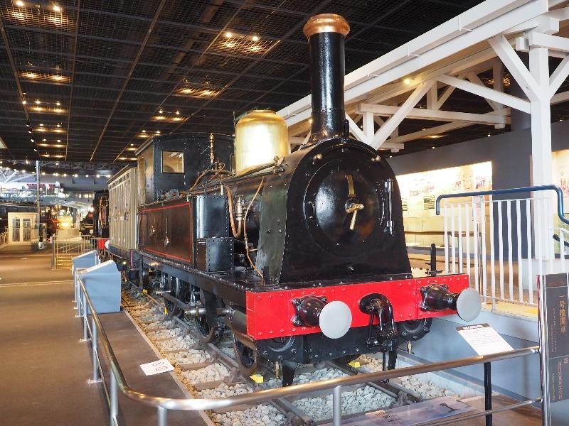 鉄道博物館 1号機関車