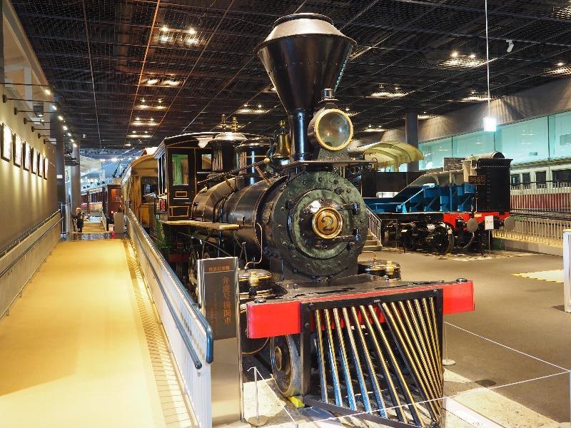 鉄道博物館 弁慶号機関車