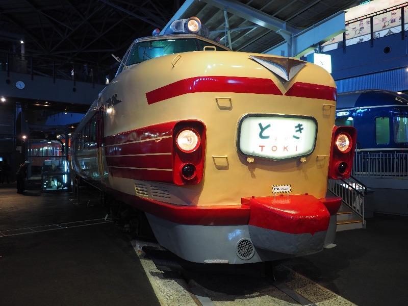 鉄道博物館 クハ181形式電車「こだま」号