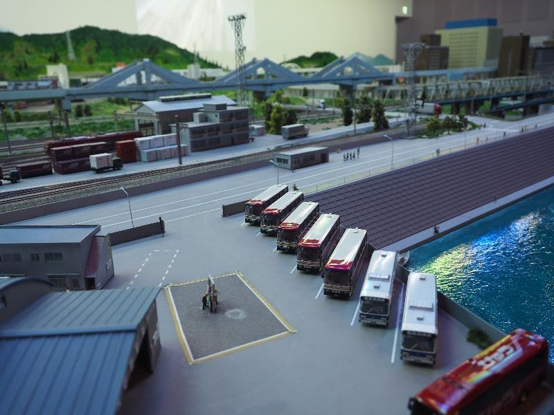 鉄道博物館 鉄道ジオラマ バス