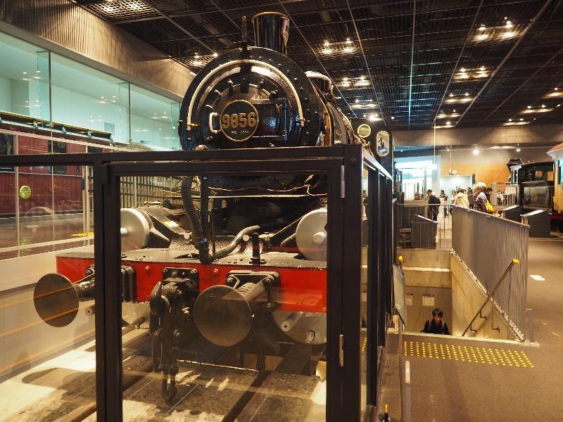 鉄道博物館 9850形式蒸気機関車