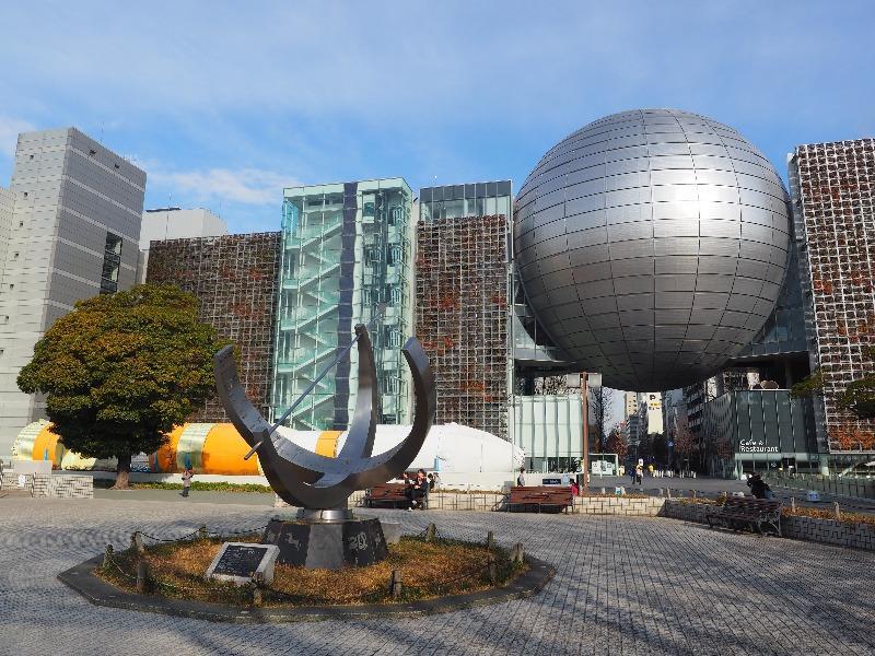 名古屋市科学館 大型環式日時計