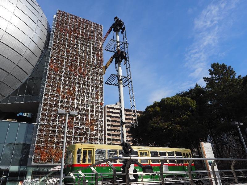 名古屋市科学館 B6型蒸気機関車 2412号 があった場所