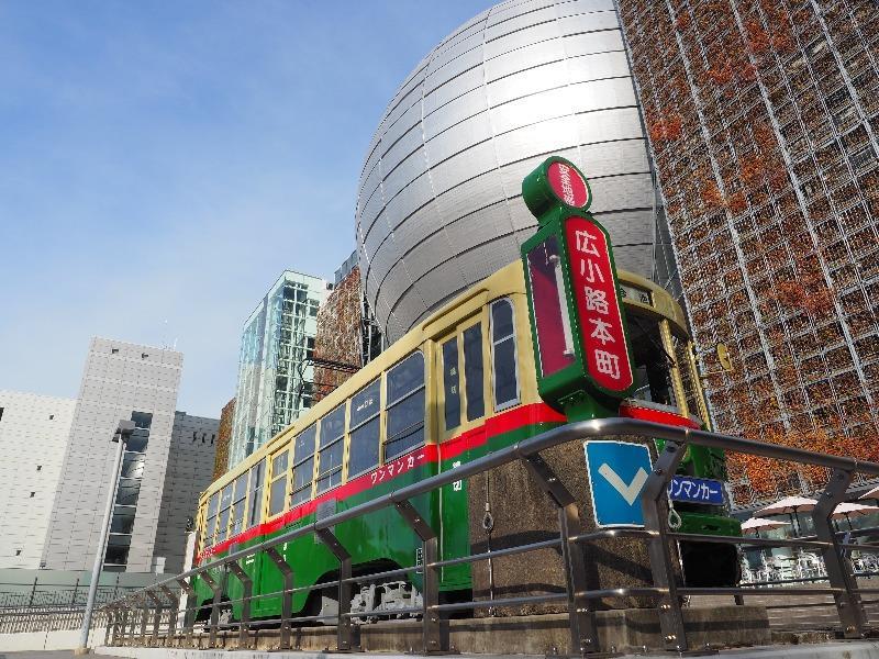 名古屋市科学館 路面電車 1401号車