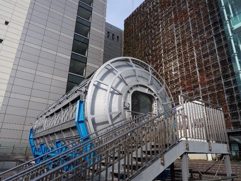 名古屋市科学館「きぼう」船内実験室