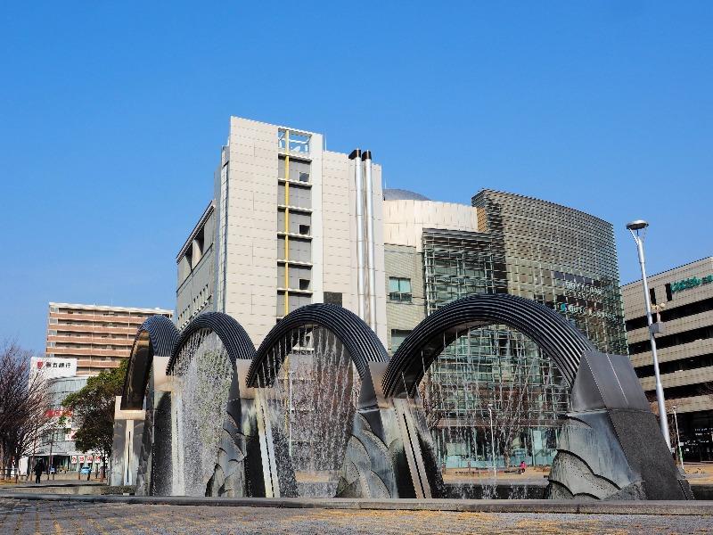 四日市市立博物館 噴水