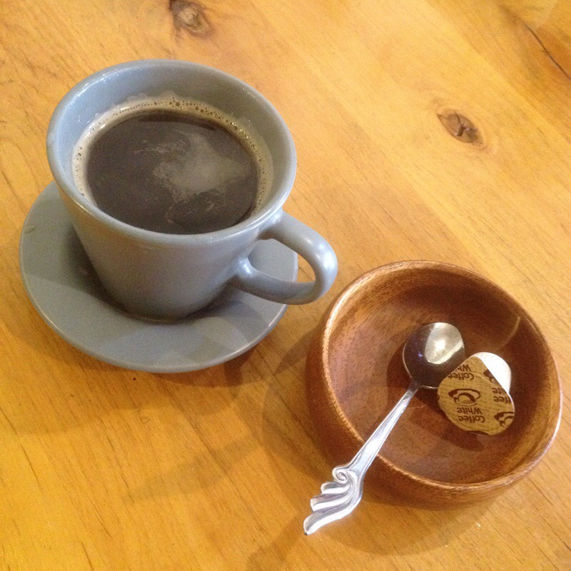 館林 カフェ・ド・スタール ホットコーヒー