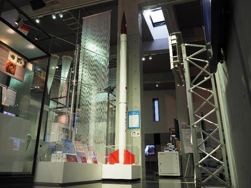 国立極地研究所 南極・北極科学館 S-160JA型 オーロラ観測ロケット模型