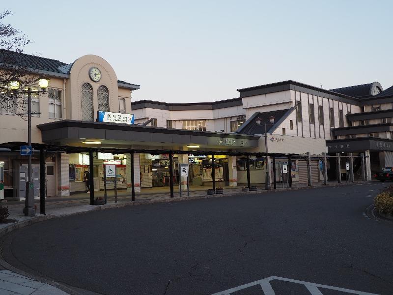 館林駅東口 カフェ・ド・スタール付近