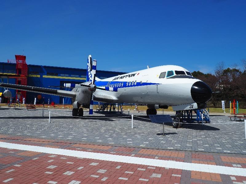 かかみがはら航空宇宙科学博物館 YS-11A-500R中型旅客機