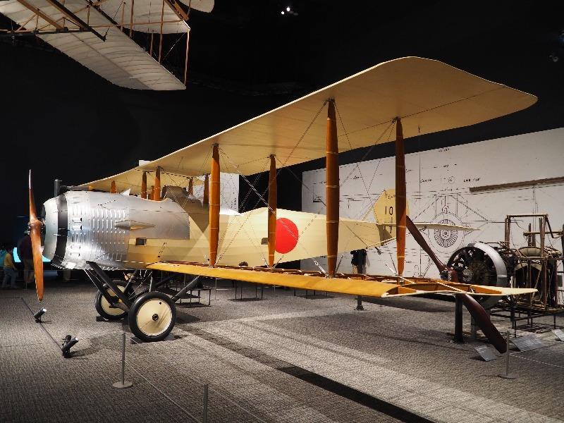 かかみがはら航空宇宙科学博物館 陸軍 乙型一型偵察機(サルムソン2A2)