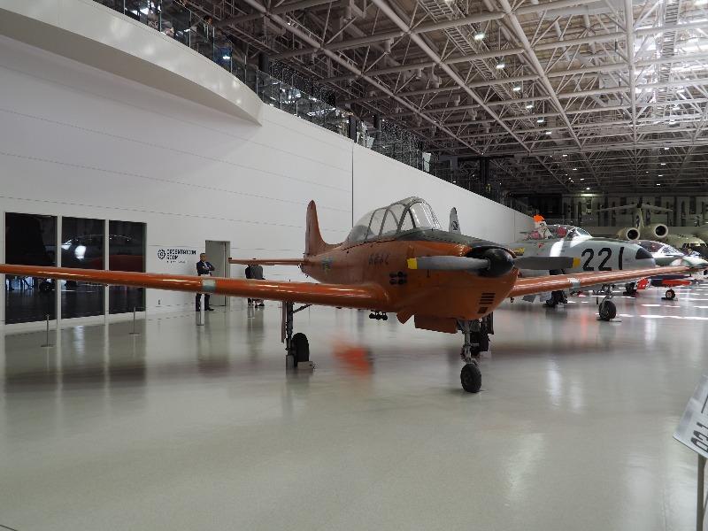 かかみがはら航空宇宙科学博物館 川崎 KAT-1 練習機