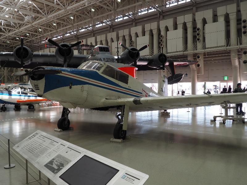 かかみがはら航空宇宙科学博物館 川崎 KAL-1 連絡機