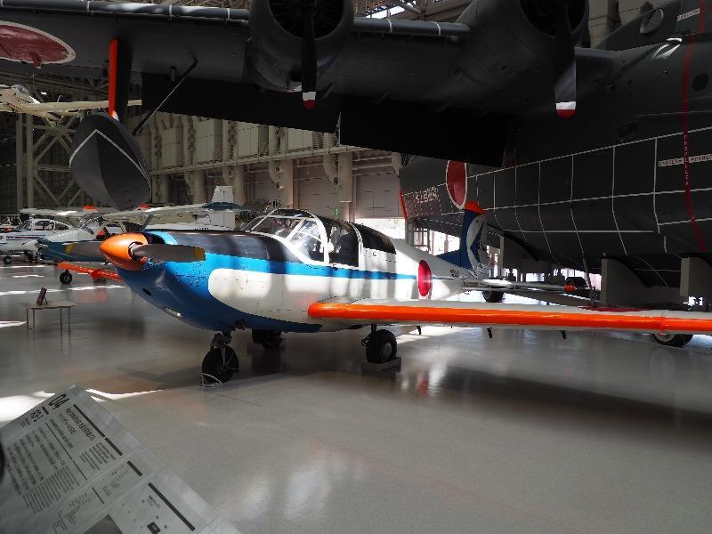 かかみがはら航空宇宙科学博物館 サーブ・サフィール91B改