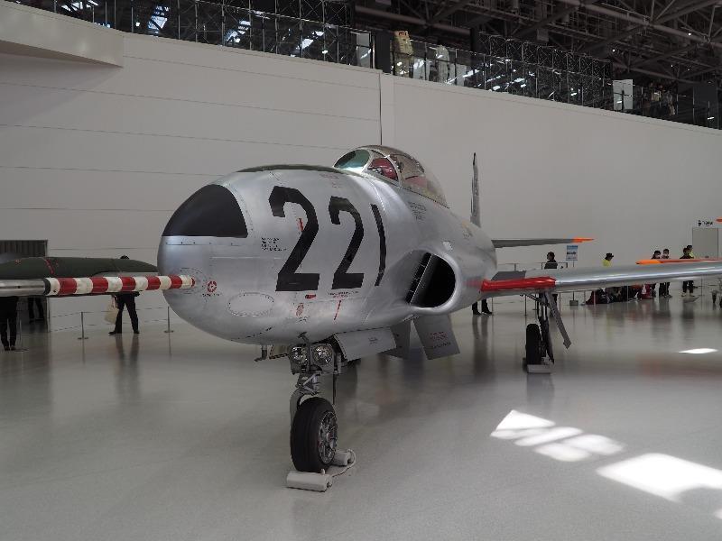 かかみがはら航空宇宙科学博物館 ロッキード/川崎 T-33A ジェット練習機