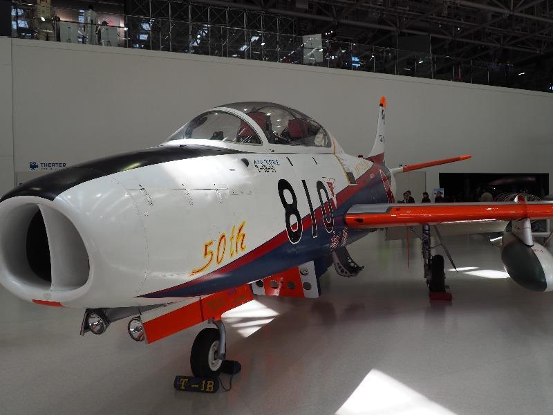 かかみがはら航空宇宙科学博物館 富士 T-1B ジェット練習機