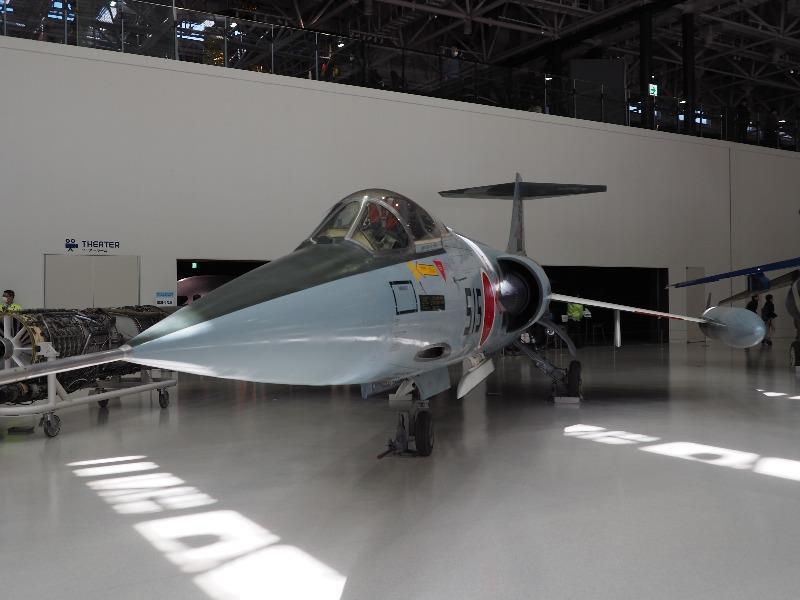 かかみがはら航空宇宙科学博物館 ロッキード/三菱 F-104J 要撃戦闘機