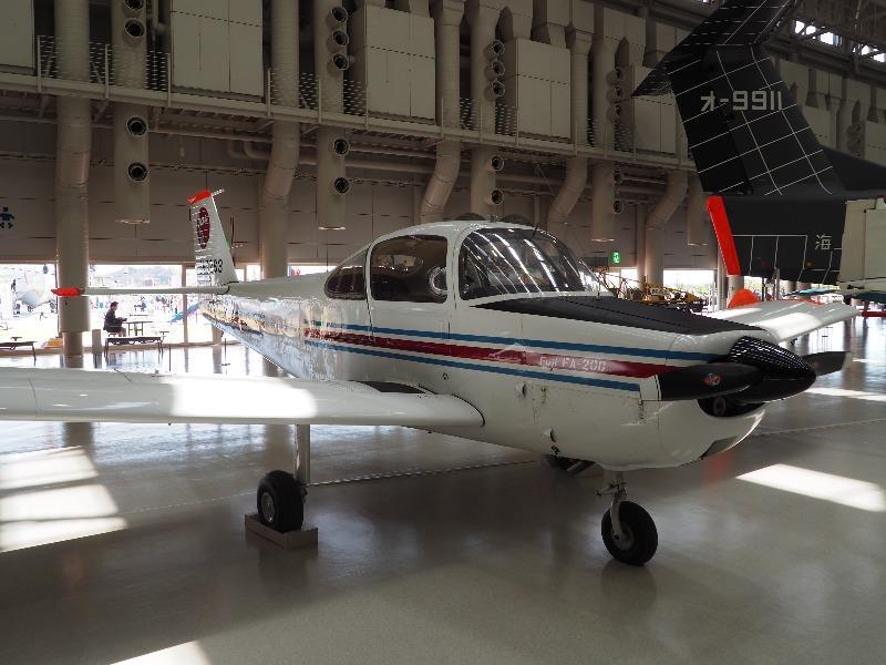 かかみがはら航空宇宙科学博物館 航技研/富士 FA-200改 STOL実験機