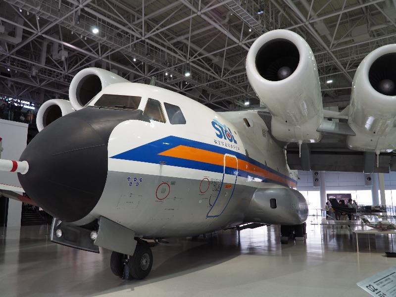かかみがはら航空宇宙科学博物館 航技研 低騒音STOL実験機「飛鳥」