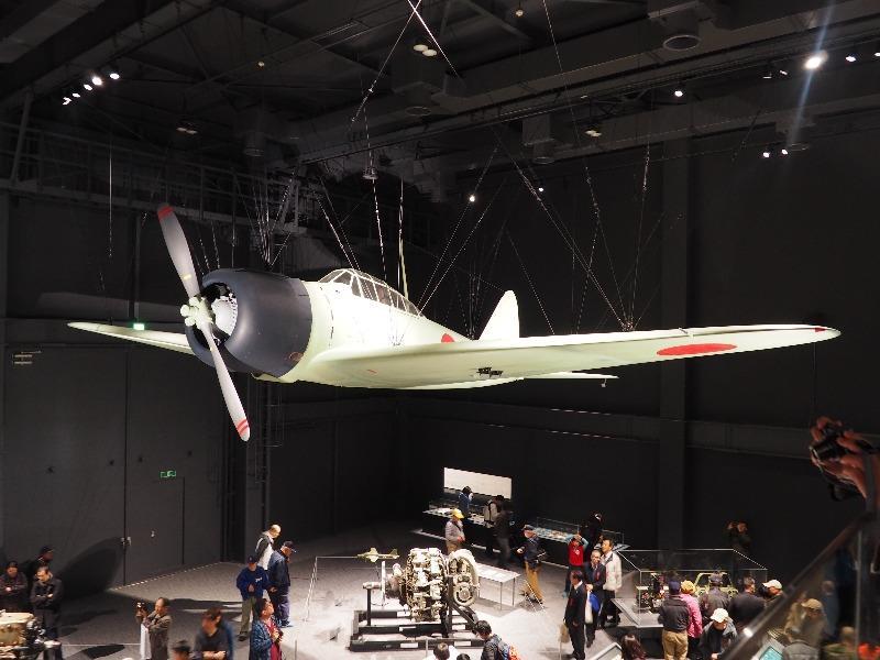 かかみがはら航空宇宙科学博物館 海軍 十二試艦上戦闘機(「零戦」試作機)
