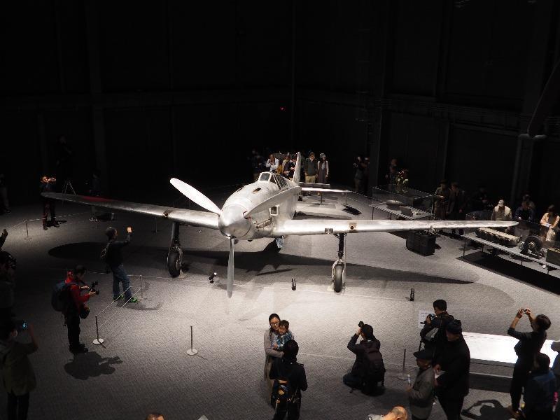 かかみがはら航空宇宙科学博物館 陸軍 三式戦闘機二型「飛燕」(2)
