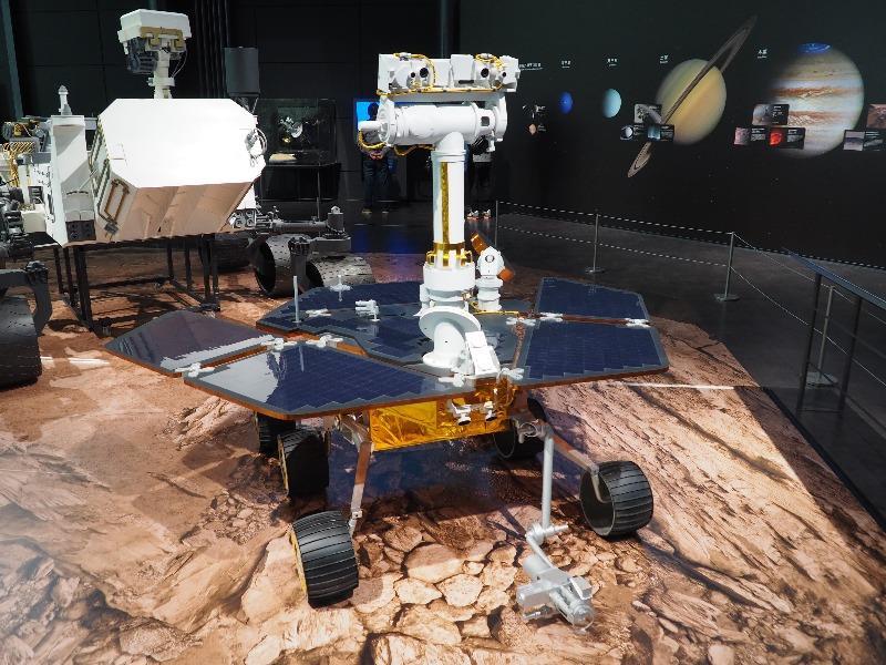 かかみがはら航空宇宙科学博物館 火星探査車 マーズ・エクスプロレーション・ローバー